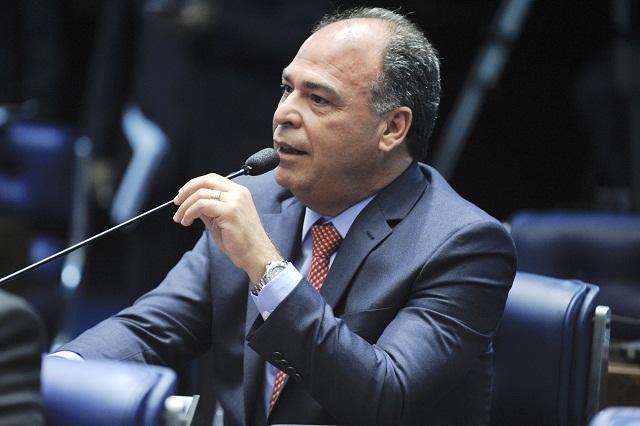 Plenário do Senado durante sessão deliberativa ordinária. Em pronunciamento, senador Fernando Bezerra (PSB-PE). Foto: Moreira Mariz/Agência Senado